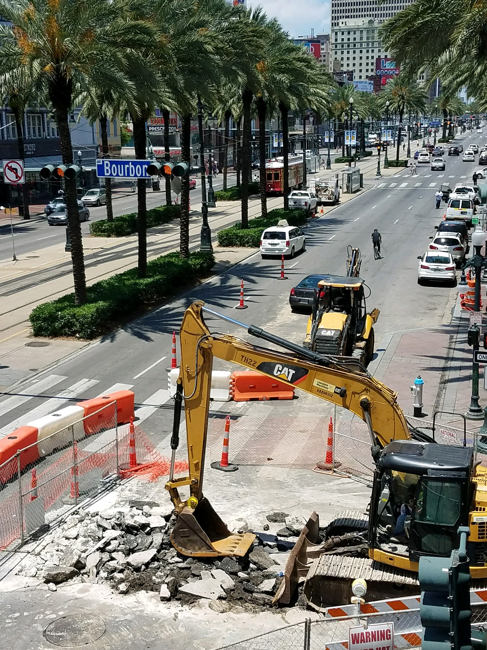 French Quarter Infrastructure Improvement Project underway in 100-400 blocks of Bourbon St.